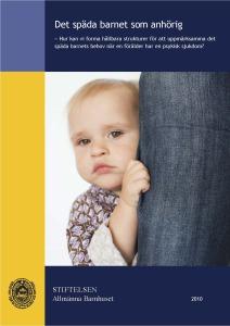 Konferensdokumentation för Allmänna Barnfonden
